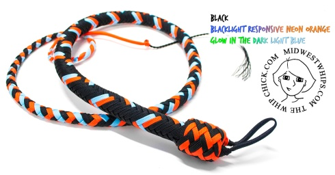 Color Vibrating Snignal Whip